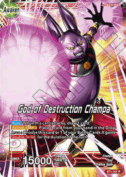 Champa - God of Destruction Champa