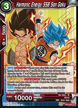 Harmonic Energy SSB Son Goku
