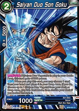 Saiyan Duo Son Goku