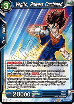 Vegito, Powers Combined