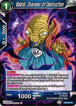 Babidi, Overseer of Destruction