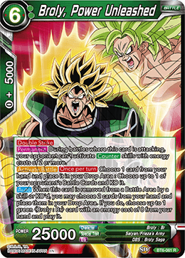 Broly, Power Unleashed