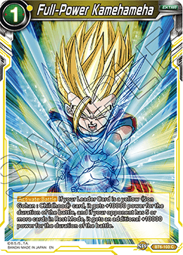 Full-Power Kamehameha