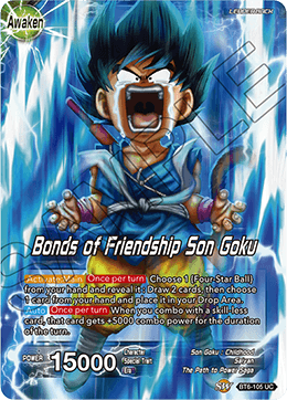 Son Goku - Bonds of Friendship Son Goku