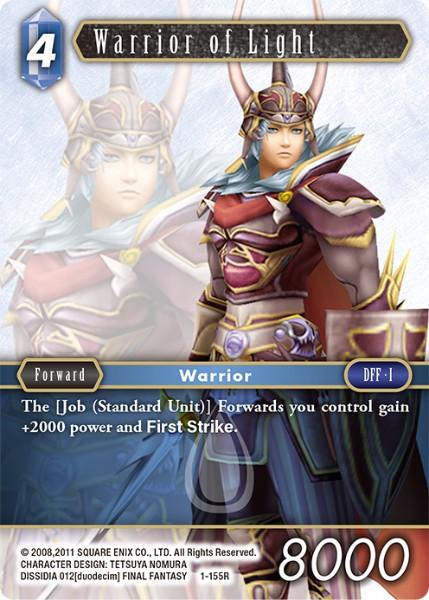 Warrior of Light (1-155R)