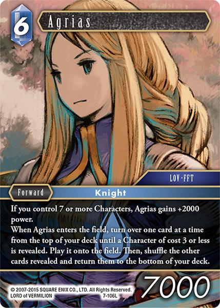 Agrias (7-106L)