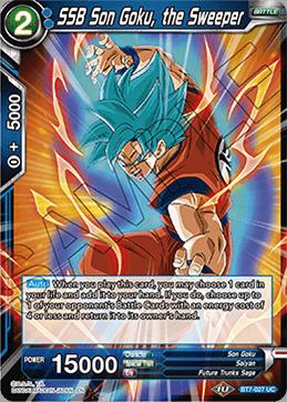 SSB Son Goku, the Sweeper