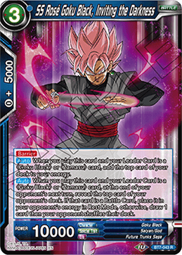 SS Rose Goku Black, Inviting the Darkness