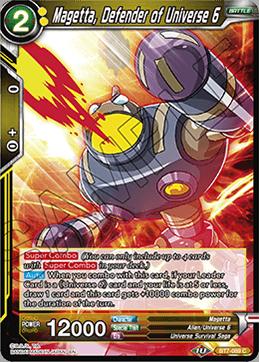 Magetta, Defender of Universe 6