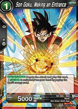 Son Goku, Making an Entrance