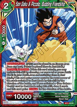 Son Goku & Piccolo, Budding Friendship