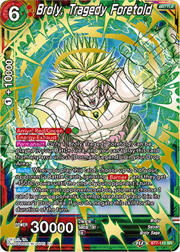 Broly, Tragedy Foretold (SR)