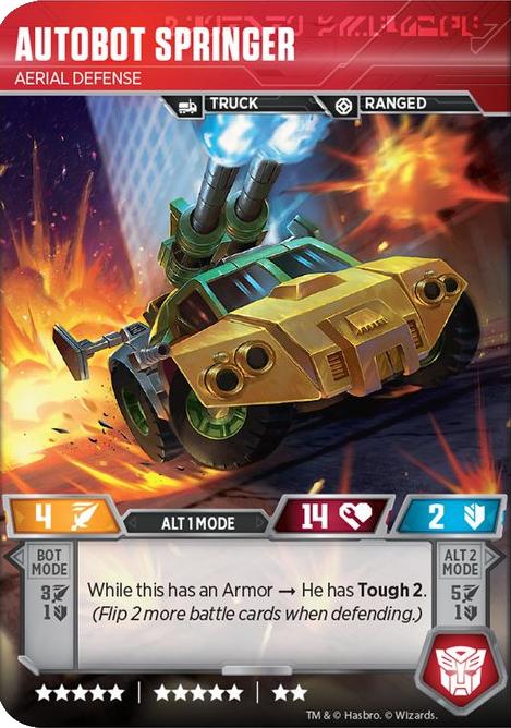 Autobot Springer, Aerial Defense