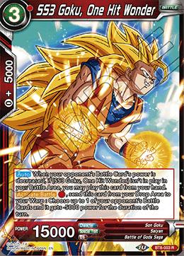 SS3 Goku, One Hit Wonder
