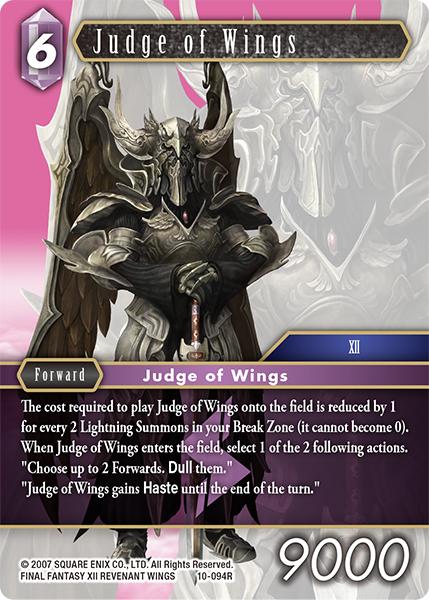 Judge of Wings (10-094R)