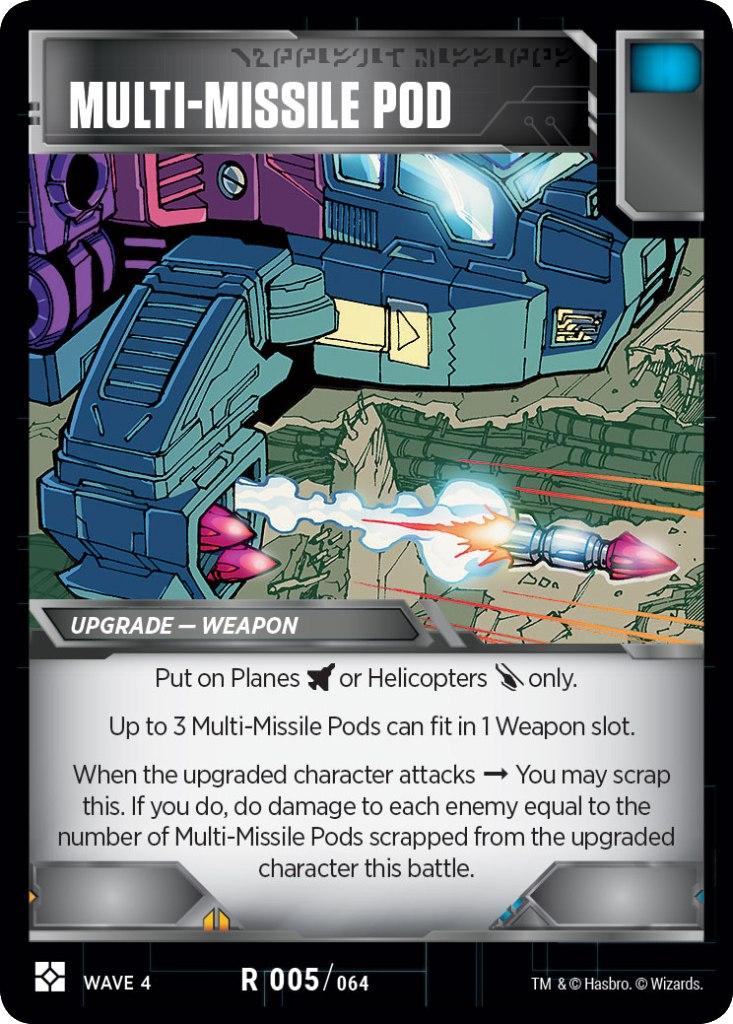 Multi-Missile Pod