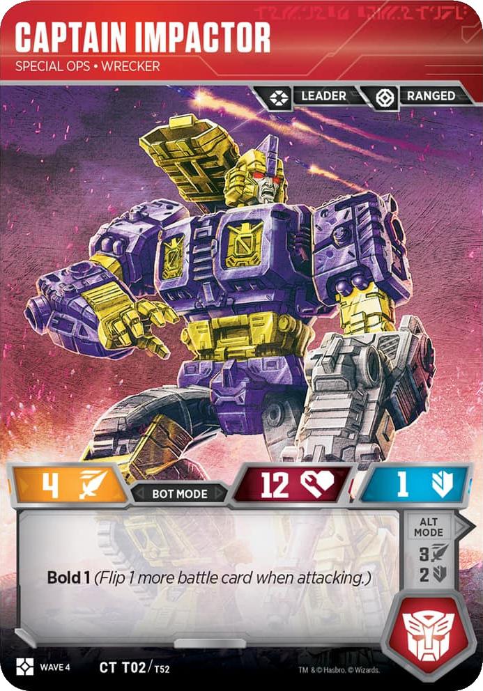 Captain Impactor, Special Ops Wrecker