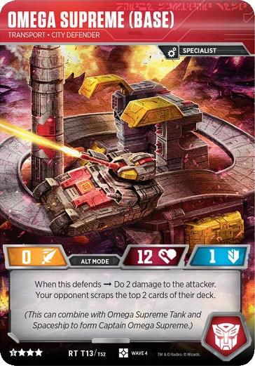 Omega Supreme (Base), Transport City Defender