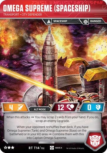 Omega Supreme (Spaceship), Transport City Defender