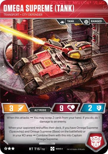 Omega Supreme (Tank), Transport City Defender
