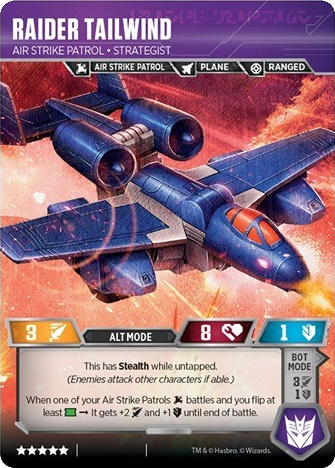 Raider Tailwind, Air Strike Patrol Strategist
