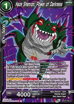 Haze Shenron, Power of Darkness