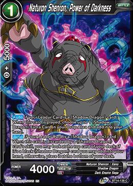 Naturon Shenron, Power of Darkness