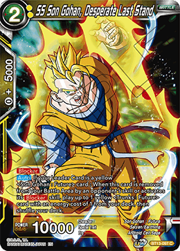 SS Son Gohan, Desperate Last Stand