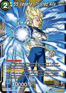 SS Vegeta, Trusted Ally